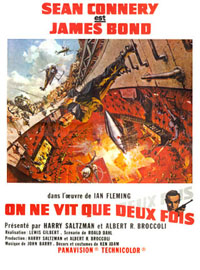 James Bond : On Ne Vit Que Deux Fois [1967]