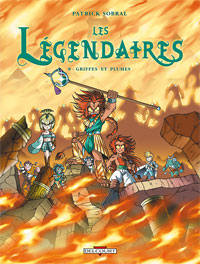 Les Légendaires : Griffes et plumes #8 [2007]