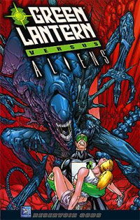 Green Lantern vs Aliens #1
