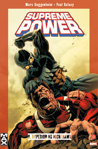Max : Supreme Power : Hyperion Vs Nighthawk #8 [2007]