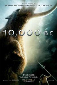 10,000 B.C : 10 000