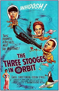 Les trois Stooges : The Three Stooges In Orbit [1962]