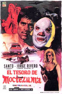 Santo : El Tesoro de Moctezuma [1968]
