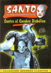 Santo contra el cerebro diabólico [1963]