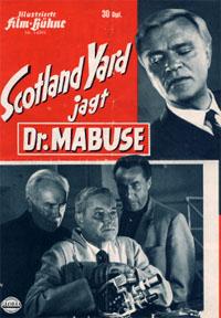 Docteur Mabuse : Mabuse attaque Scotland Yard [1963]