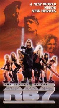 Legend of the Roller Blade Seven #3 [1992]