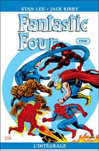 4 fantastiques : Les Quatres fantastiques : Intégrale 1968 #7 [2009]