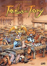 Troy / Lanfeust : Trolls de Troy : Sang famille #12 [2009]