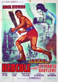 Hercule / Ursus : Hercule contre les tyrans de Babylone [1965]