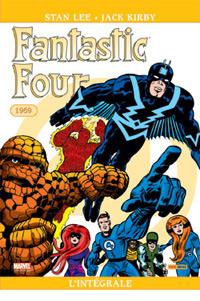 4 fantastiques : Quatres fantastiques : Intégrale 1969 [2010]