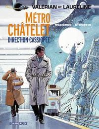 Valérian : Métro Chatelet, direction Cassiopée [#9 - 1980]