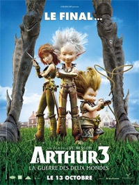 Arthur et les Minimoys : Arthur et la guerre des deux mondes