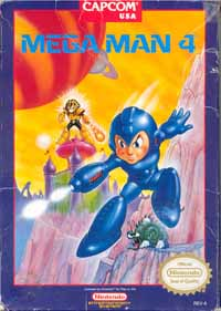 Mega Man 4 - Console Virtuelle