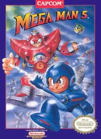 Mega Man 5 - Console Virtuelle