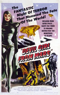 Les guerriers : Devil Girl from Mars [1954]