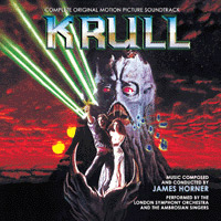 KRULL - 2 CD Limited edition