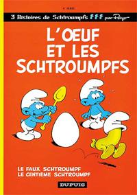 L'Oeuf et les Schtroumpfs #4 [1968]