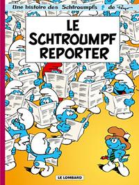 Le Schtroumpf reporter