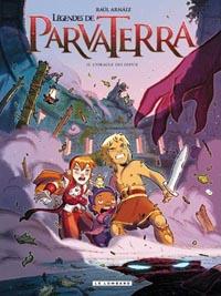 Les légendes de Parva Terra : L'oracle des Dieux [#2 - 2010]