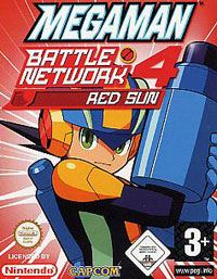 Mega Man Battle Network 4 Red Sun #4 [2004]