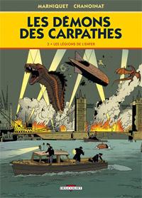 Les Démons des Carpathes : Les Légions de l'enfer #3 [2011]