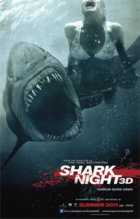 Shark Night : Shark 3D