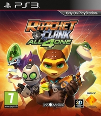Ratchet & Clank : All 4 One [2011]