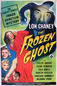 Inner Sanctum Mysteries : The Frozen Ghost #4