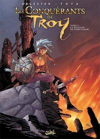 Troy / Lanfeust : Les conquerants de Troy: La bataille de Port-Fleuri #3 [2011]