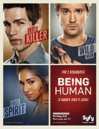 Being Human : La Confrérie de l'étrange : Being Human - US [2011]