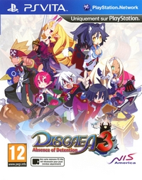 Disgaea 3 : Absence of Detention - PS VITA