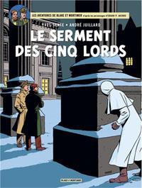 Les aventures de Blake et Mortimer : Le serment des cinq lords [#21 - 2012]