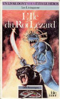 Titan : Défis Fantastiques : L'île du Roi Lézard #7 [1984]