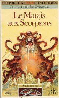 Titan : Défis Fantastiques : Le marais aux scorpions #8 [1984]
