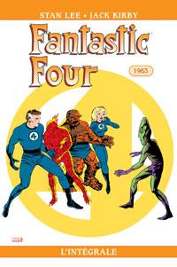 4 fantastiques : Les Quatres fantastiques : Intégrale 1963 #2 [2005]