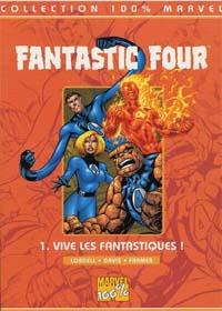 4 fantastiques : 100% Marvel Fantastic Four : Vive les fantastiques ! [#1 - 1999]
