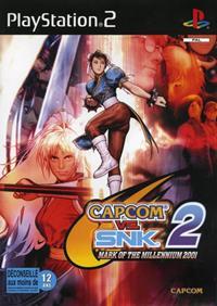 Capcom vs. SNK 2: Mark of the Millennium 2001 - PS2