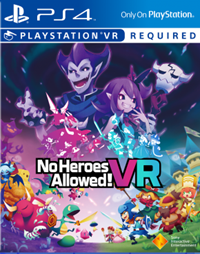 No Heroes Allowed ! VR - PSN