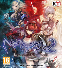Nights of Azure 2 : Bride of the New Moon - PSN