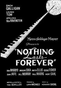 Nothing Lasts Forever [1984]
