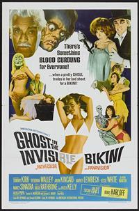 The Ghost in the Invisible Bikini [1966]