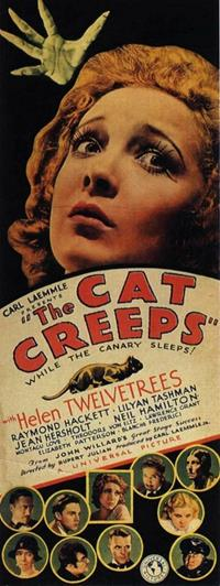 The Cat and the Canary : The Cat Creeps [1930]