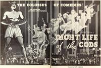 Examen critique de la pétrification ou La vie nocturne des dieux : Night Life of the Gods [1935]