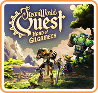 SteamWorld Quest : Hand of Gilgamech - eshop Switch