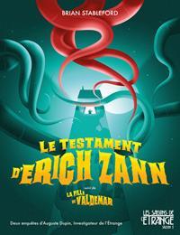 Les saisons de l'étrange : Le testament d'Erich Zann [2019]