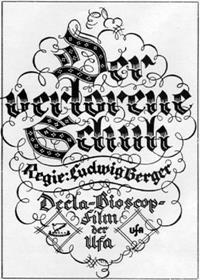 Cendrillon [1924]