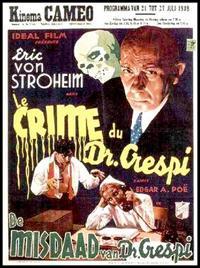 Le Crime du docteur Crespi [1936]