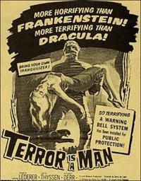 L'Ile du docteur Moreau : Terror Is a Man [1959]
