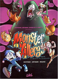 Monster Allergy : La Pyramide des invulnérables [#2 - 2003]