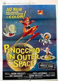 Pinocchio dans l'espace [1965]